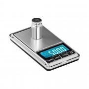 Digital Pocket Scale - 500 g - 0.05 g / 200 g - 62 x 54 mm - imitation leather case