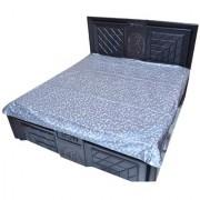 CASA-NEST Exclusive Baby Plastic Sheet/Mattress Protector Sheet Waterproof Bedsheet (6.5 Ft x 6.5 Ft) Plastic/PVC (Assorted Color)