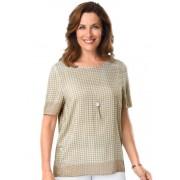 Atelier Goldner Schnitt Gedessineerde blouse van hoogwaardige viscose - Size: 42