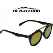 Aligatorr Rectangular Sunglasses(Multicolor)