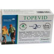 Q10 és szelén tartalmú étrend-kiegészítő kapszula - Topevid Pycnogenol