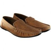 Blinder Tan Loafers Mocassion Shoes For Men