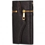 Apple Läderfodral/plånbok svart, iPhone 5/5S/SE
