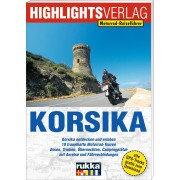 Highlights-Verlag Motorrad-Reiseführer Korsika