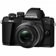 Aparat Foto Digital Compact Olympus E-M10 Mark II + EZ-M1442 IIR Negru