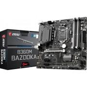 Matična ploča MB LGA1151 MSI B360M BAZOOKA, PCIe/DDR4/SATA3/GLAN/7.1/USB 3.1