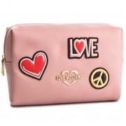 Geantă pentru cosmetice LOVE MOSCHINO - JC5300PP17LJ0600 Rosa