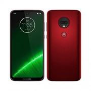 "Motorola Moto G7 Plus, 4G LTE, 64GB/4GB RAM, Pantalla 6.2"" Full HD, Android Pie, Desbloqueado de fábrica (Rojo Profundo)"