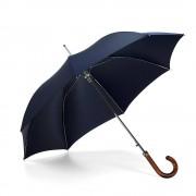 Stand up Umbrella Wooden Handle Navy