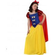 Costum Alba ca Zapada fetite 7-9 ani
