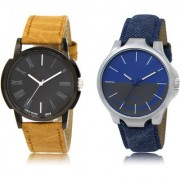 The Shopoholic Black Blue Grey Combo Treny and Precious Black And Blue And Grey Dial Analog Watch For Boys Casual Watch For Men