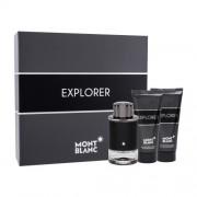 Montblanc Explorer подаръчен комплект EDP 100 ml + балсам след бръснене 100 ml + душ гел 100 ml за мъже