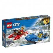 Lego city police fuga sul fiume 60176
