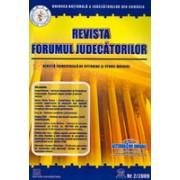 Revista Forumul Judecatorilor - Nr. 2/2009.
