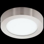 EGLO 32441 | Fueva-1 Eglo zidna, plafonjere LED panel okrugli 1x LED 1350lm 4000K niklovan mat, opal