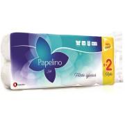 Hartie igienica, 2 straturi, 10 role, alba, PAPELINO Soft