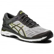 Обувки ASICS - Gel-Kayano 24 Lite-Show T8A4N Mid Grey/Dark Grey/Safety Yellow 9695