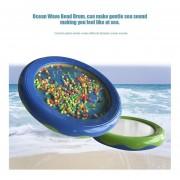 Eh De Moda LYH18P Ocean Wave Bead Tambor Mar Sonido Juguetes Educativos Para El Regalo