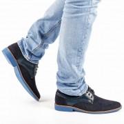 Reuben kék férfi cipő