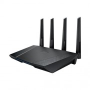 Asus RT-AC87U Dual-band 4x4 AC2400 Wifi 4-port Gigabit Router with AiProtection Powered by Trend Micro