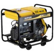 Generator de curent KIPOR KDE 6500 X3, 6 kVA, diesel