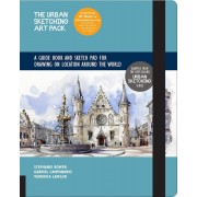 The Urban Sketching Art Pack: A Guide Book and Sketch Pad for Drawing on Location Around the World--Includes a 112-Page Paperback Book Plus 112-Page, Hardcover