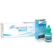 1-DAY Acuvue Moist (30 lentile) + Optive 10 ml
