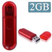 2GB USB Flash Disk (Red)