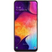 "Telefon Mobil Samsung Galaxy A50, Procesor Octa-Core 2.3GHz / 1.7GHz, Super AMOLED 6.4"", 4GB RAM, 128GB Flash, 25+8+5MP, Wi-Fi, 4G, Dual Sim, Android (Coral) + Cartela SIM Orange PrePay, 6 euro credit, 6 GB internet 4G, 2,000 minute nationale si internati"