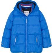 Endo Zimowa kurtka dla chłopca 3-8 lat, Mam Cię na oku, niebieska