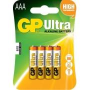 Baterie alcalina R3 (AAA) 4 buc/blister Ultra GP