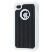 iPhone 4S/4 Impact Case - Apple Impact Case (White/Classic Black)