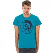 Tee-Shirt Diesel T-Achel-Rs 8ds Homme Bleu