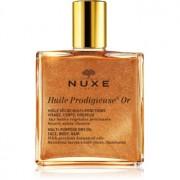 Nuxe Huile Prodigieuse Or óleo seco multifunções com brilhantes para rosto, corpo e cabelo 50 ml
