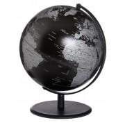 Emform Pluto politisch schwarz Design Globus 25cm black matt englisch SE-0832
