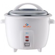 Bajaj RCX 2 Electric Rice Cooker(1 L, White)