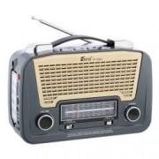 Set - Radio AM FM SW1/2 MP3 player cu lanterna Fepe FP-1502U Gri + Suport Universal de Birou Pentru Tablete sau Telefoane