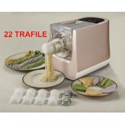 Macchina pasta fresca 300W con 22 trafile e set cucina RITAPASTA
