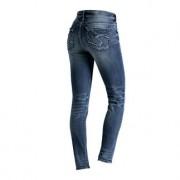 Silver Skinny-Jeans Suki, 38 - Mittelblau