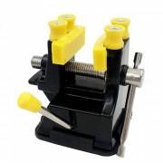 Mini mesa de vicio ajustable max 37 mm tornillo de banco de plastico tornillo de banco para la joyeria de bricolaje herramientas de reparacion dremel herramientas electricas accesorios