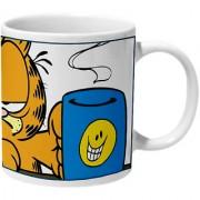 Mooch Wale Garfield Monday Face On Ceramic Mug