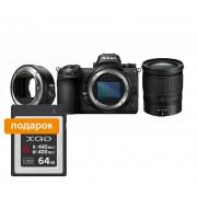 Nikon Фотокамера Z 7 + объектив 24-70/4 S + переходник FTZ