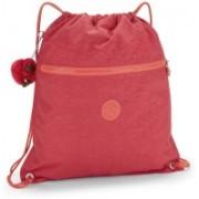Kipling SUPERTABOO Punch Pink C,F 15 L Backpack(Pink)