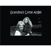 Infusion Gifts 3042SB Engraved Photo Frame, Grandma'S Little Angel, Black