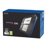Nintendo 2DS (Negru și albastru) + New Super Mario Bros. 2 3DS