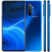 "Telefon Mobil Realme X2 Pro, Procesor Snapdragon 855+ Octa-Core, Ecran Super AMOLED 6.5"", 8GB RAM, 128GB Flash, Camera Quad 64 + 13 + 8 + 2 MP, Wi-Fi, 4G, Dual Sim, Android (Albastru) + Cartela SIM Orange PrePay, 6 euro credit, 6 GB internet 4G, 2,000 min"