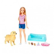 Mattel Barbie - Barbie y sus Perritos Sorpresa