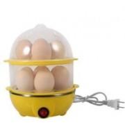 Joker Shoppy Multi-Function Electric 2 Layer Egg Boiler Cooker Egg_Boiler-yelow Egg Cooker(Yellow, 14 Eggs)