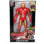 Avenger 2 Age Of Ultron Action Figure Series with LED Light on Chest with Weapons Twist