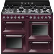 Smeg TR4110RW1 Cucina Victoria, RED WINE , 110x60. Classe A